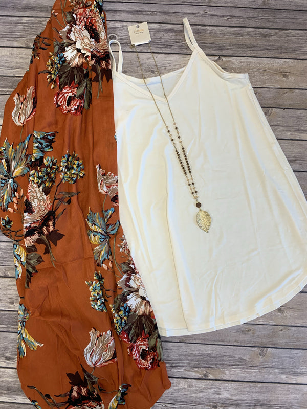 Sunrise Blossom Kimono or Set - Trophy Wife Boutique