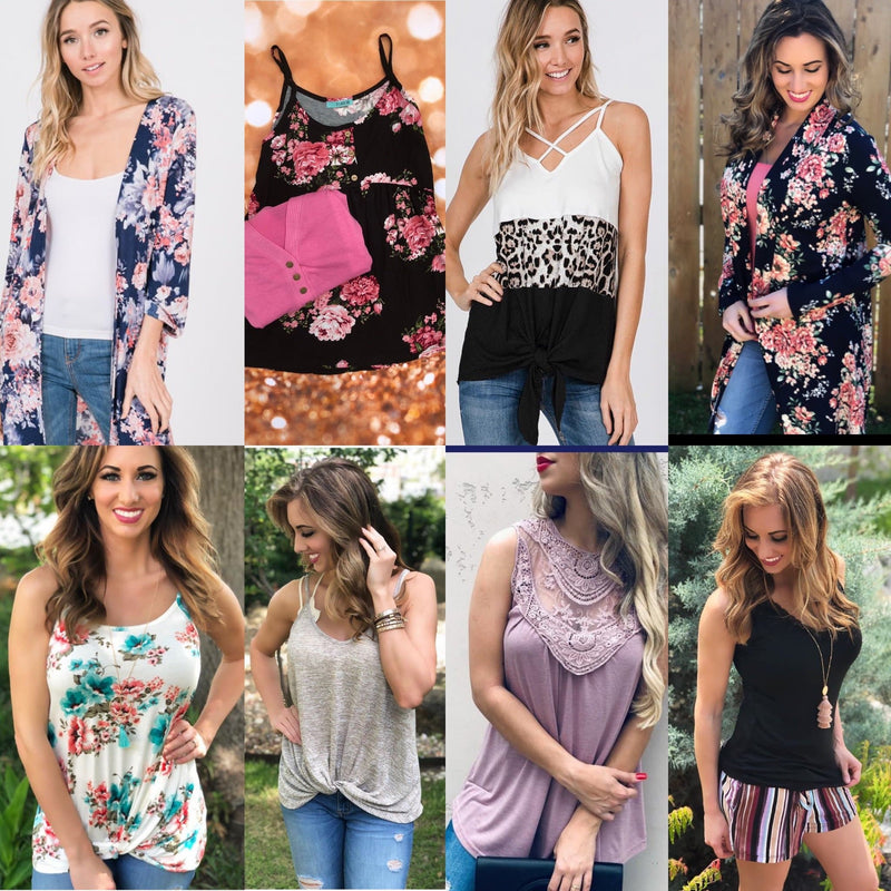 Tops Mystery Pack - Trophy Wife Boutique