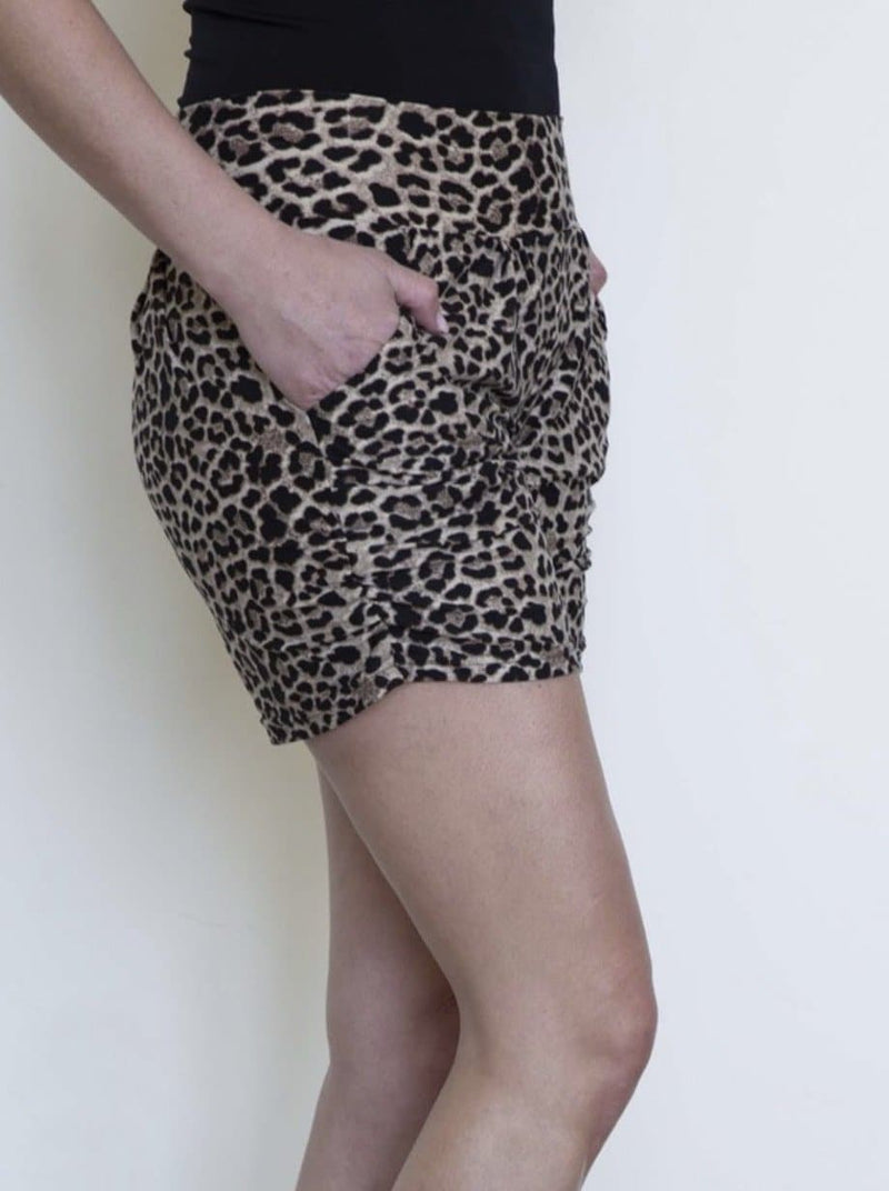 Leopard Harem Shorts - Trophy Wife Boutique