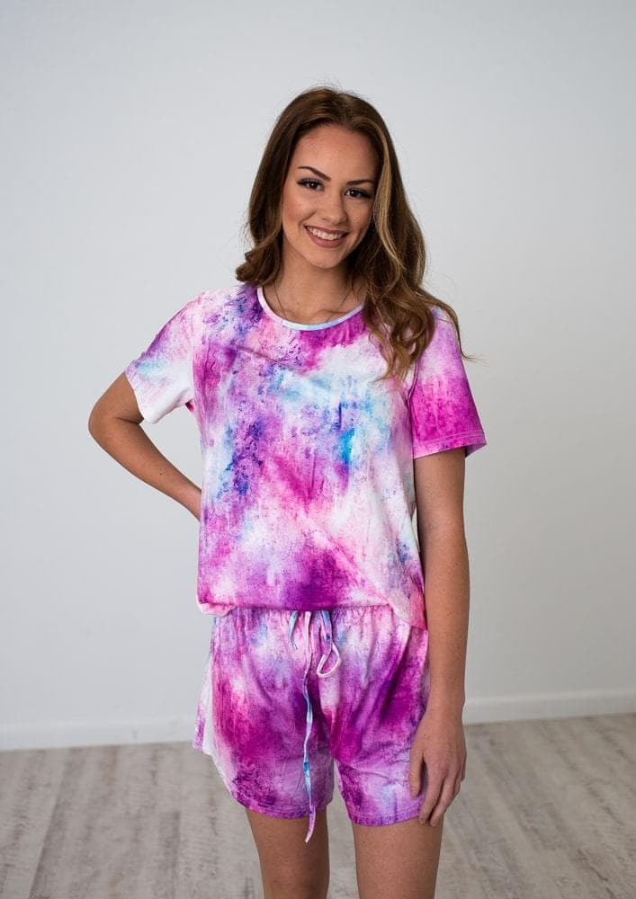 Kayley Tie Dye Loungewear Set