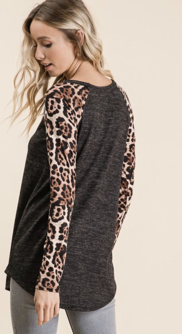 Wild Thing Charcoal Top