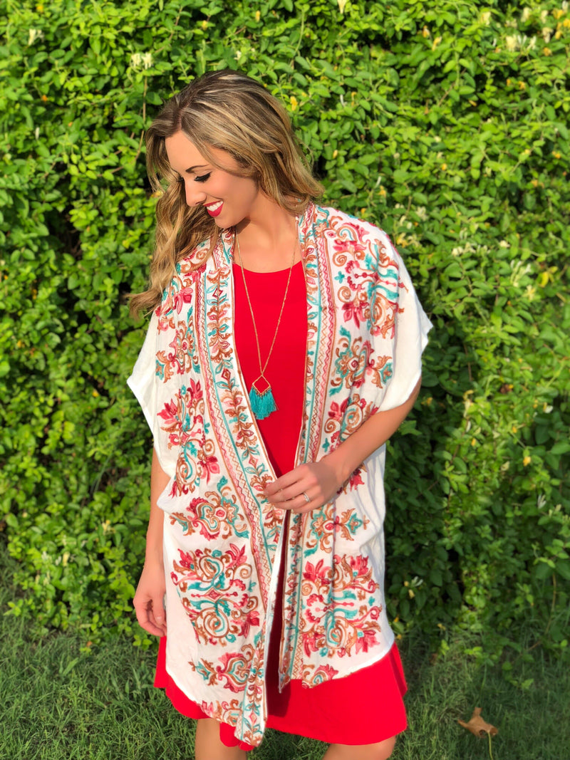 Pretty Girl Kimono or Set - Trophy Wife Boutique