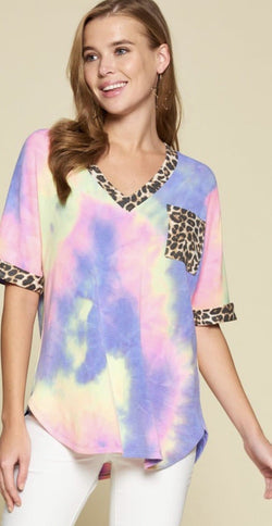 Wild Child Tie Dye Top