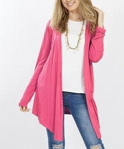 Pink Waterfall Cardigan