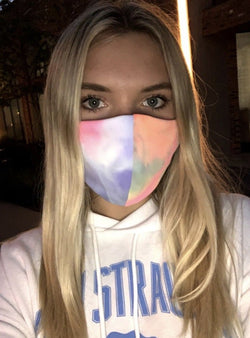 Tie Dye Washable Masks - Adults and Kids - Trophy Wife Boutique