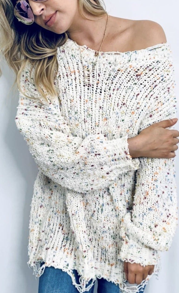 Sprinkle Confetti Sweater