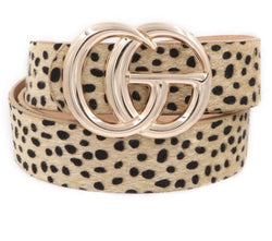 Leopard Belts - Trophy Wife Boutique