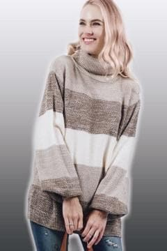 Callie Colorblock Sweater
