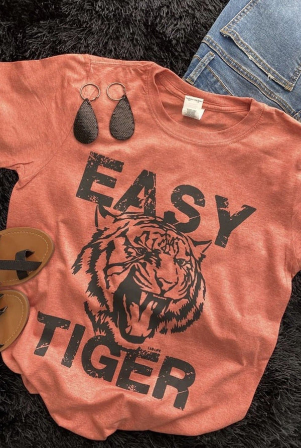 Easy Tiger Tee - Trophy Wife Boutique