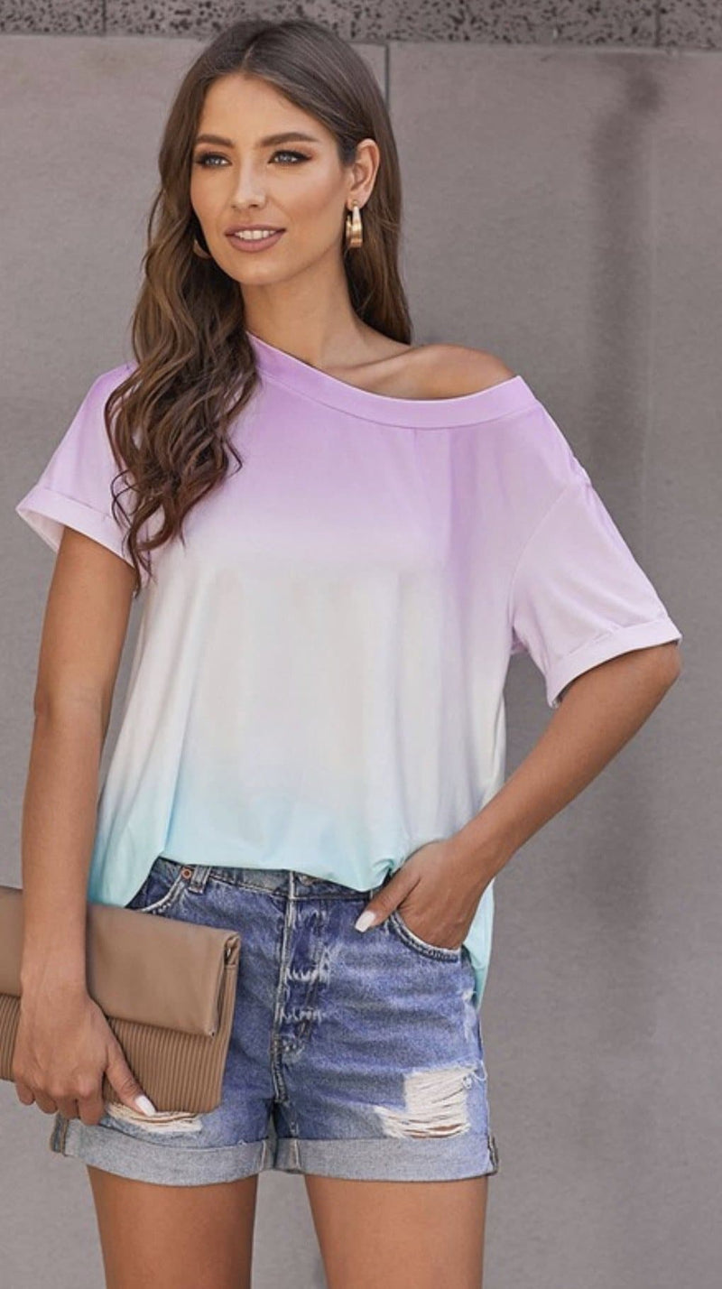 Crazy for Tie Dye Tee- 2 Colors