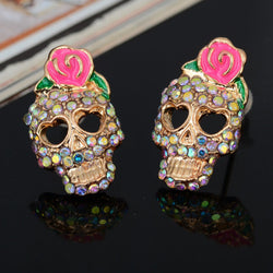 Sugar Skull Earrings - Trophy Wife Boutique