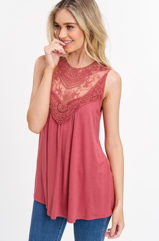 Perfect Day Lace Top - Trophy Wife Boutique