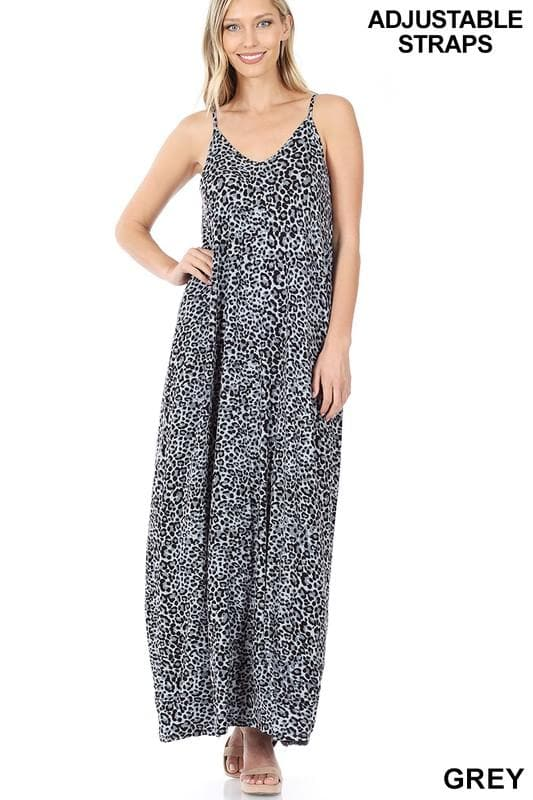Animal Instincts Maxi Dress