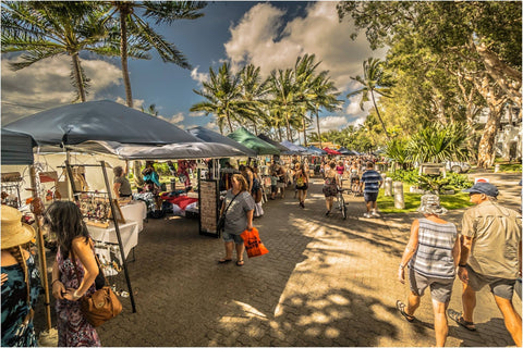 Palm Cove Markets is on the first Sunday of each month (except September)