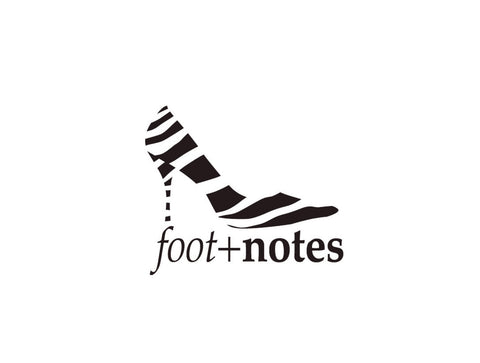 Footnotes Notecard Logo