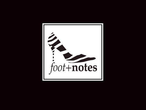 Footnotes Notecard Black