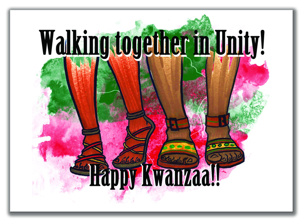 Kwanzaa Walking in Unity