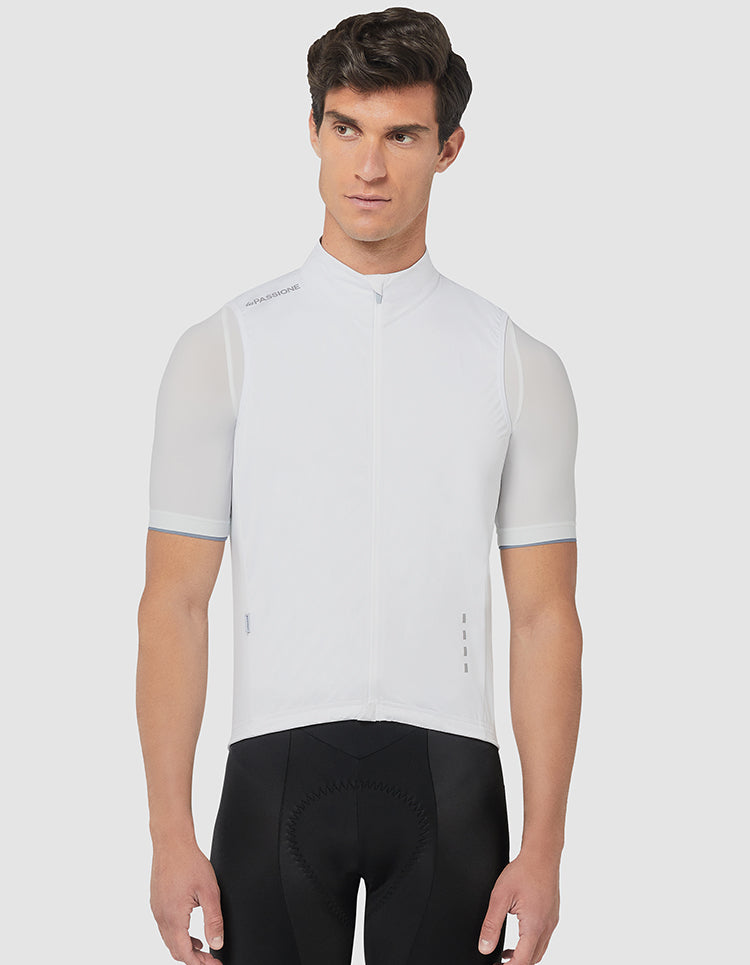 Windproof Gilet White