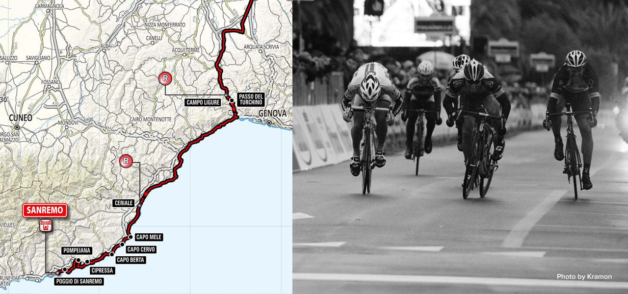That sweet hill overlooking the city of Sanremo will always be linked to the classic race Milan-Sanremo. That sweet hill is the Poggio.