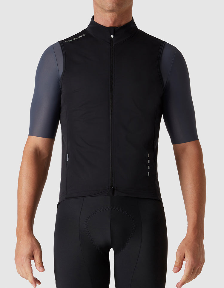 Windproof Gilet Black