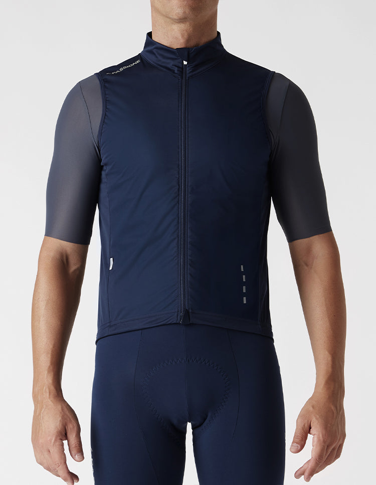 Windproof Gilet Blue