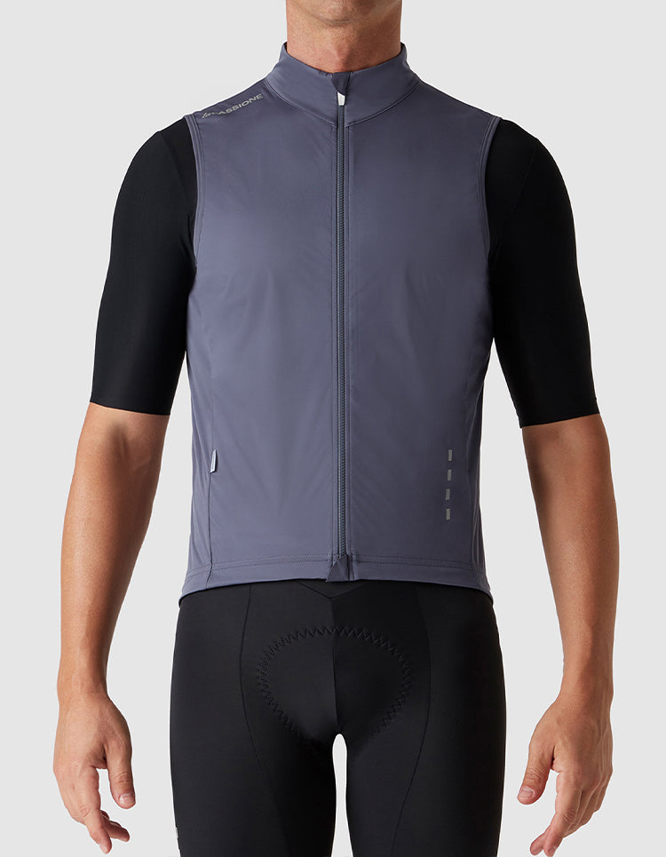 Windproof Gilet Graphite