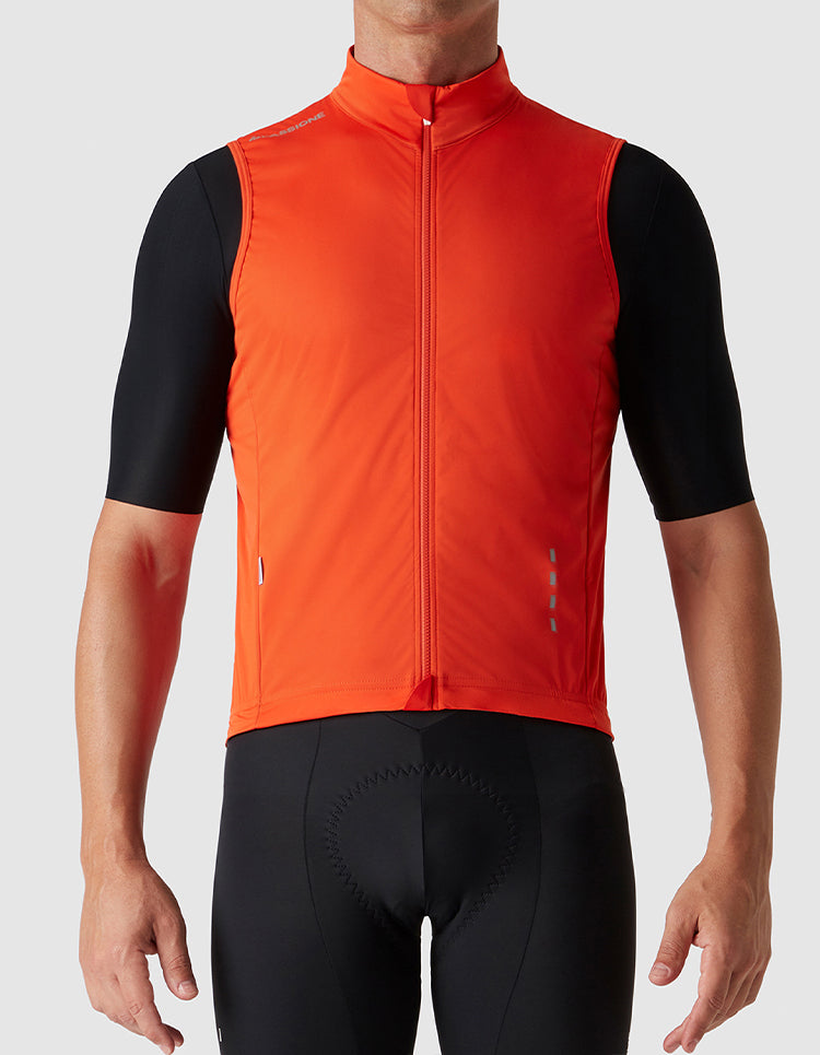 Windproof Gilet Orange