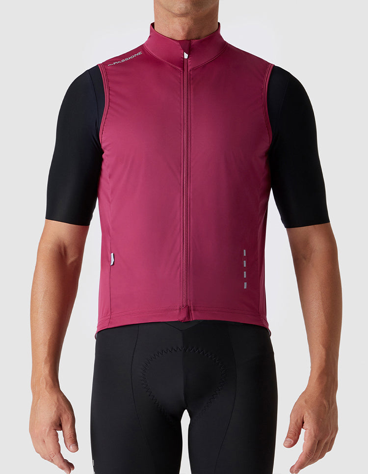 Windproof Gilet Virtus Red