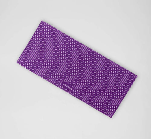 Pattern Neck Warmer Violet