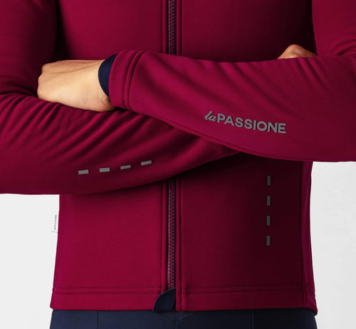 PSN Windproof Jersey Cabernet
