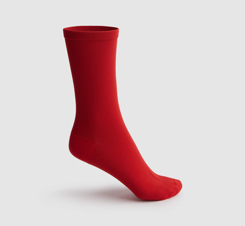 Raw Socks Red