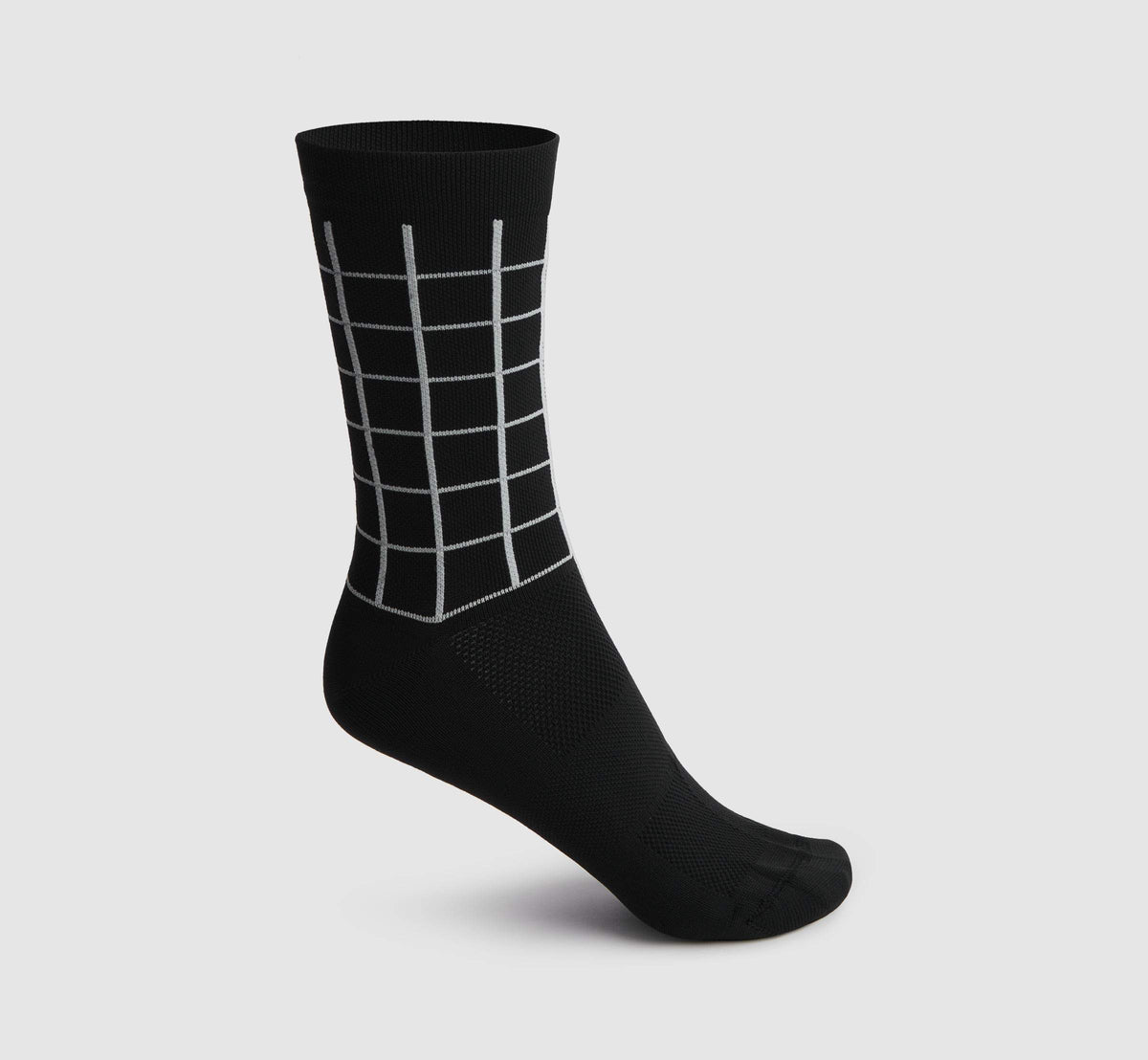 Square Socks Black