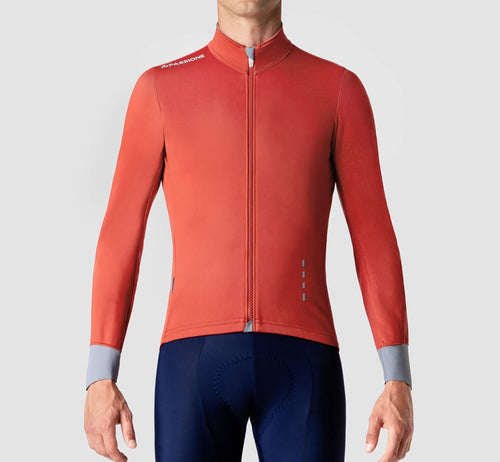 PSN Windproof Jersey Red Clay