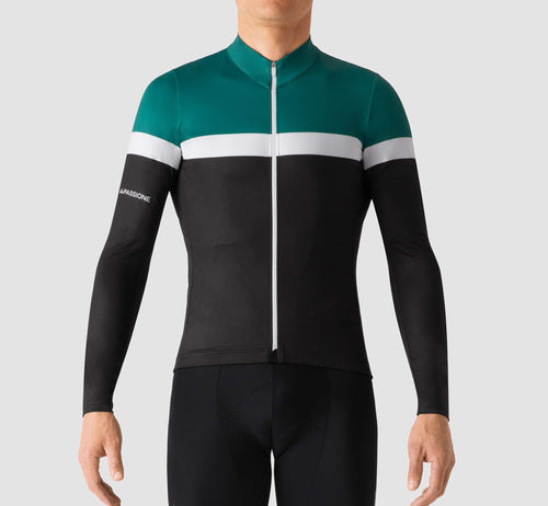 Livery Long Sleeve Jersey Green/Black