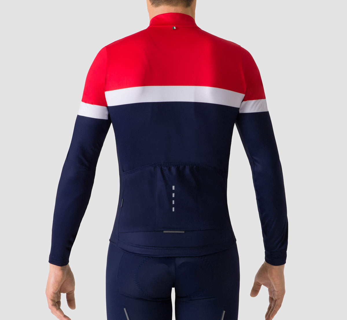 Livery Long Sleeve Jersey Red/Blue