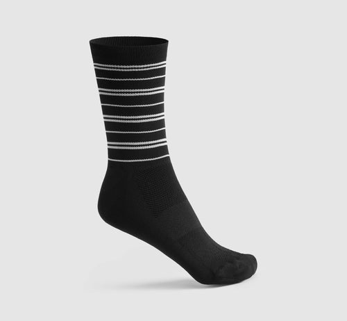 Stripes Socks 2 Black/White