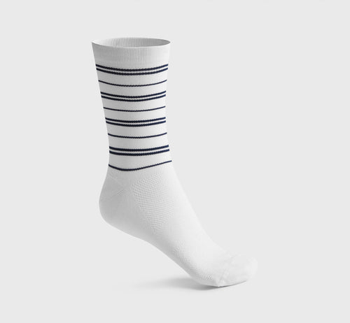 Stripes Socks 2 White/Blue