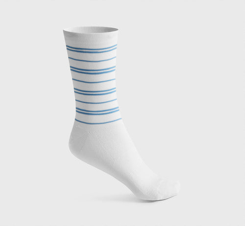 Stripes Socks 2 White/Hortensia