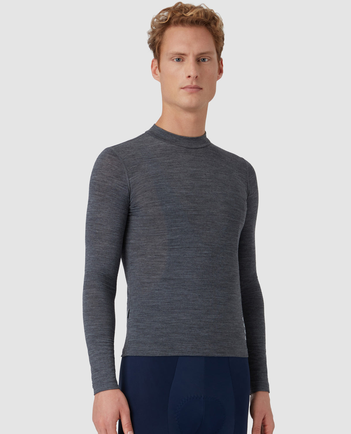 Merino Long Sleeve Base Layer Grey