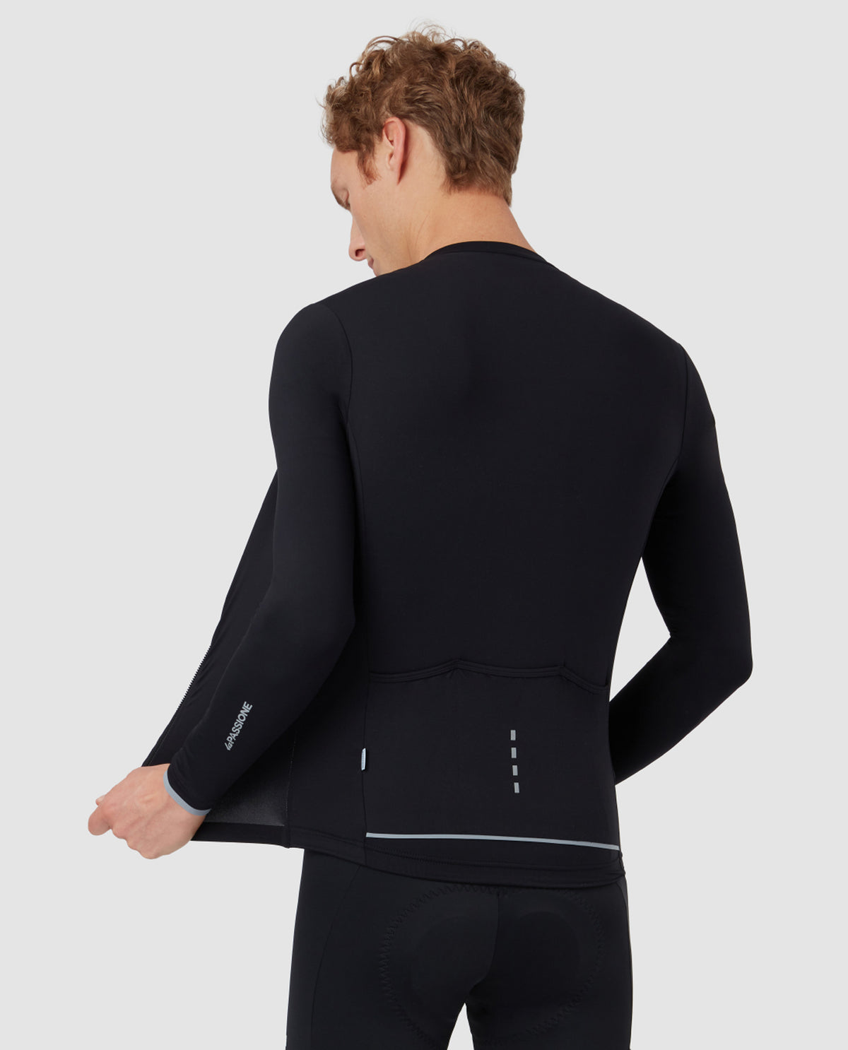PSN Long Sleeve Jersey Midweight Black