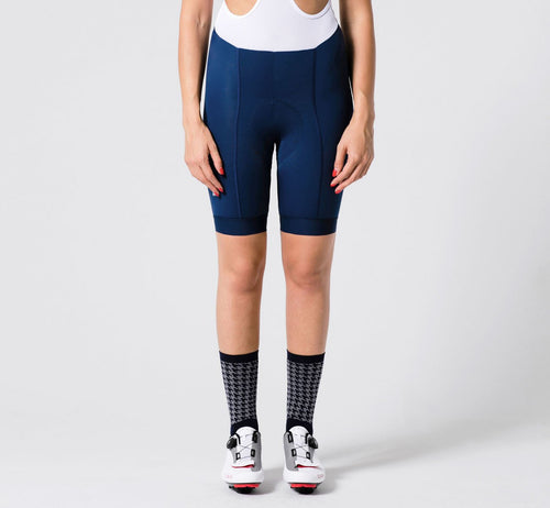 Summer Bib Shorts Blue Woman
