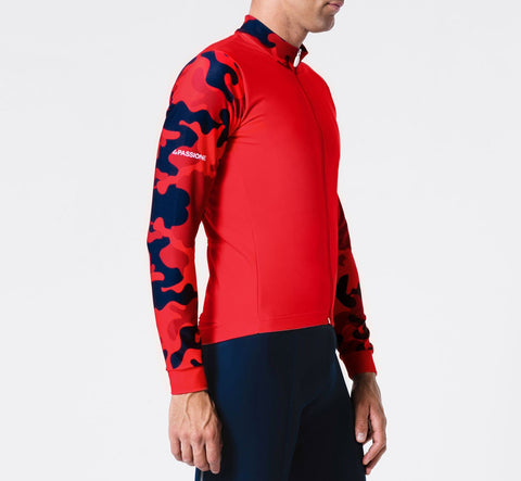 Winter Jersey Camou Red