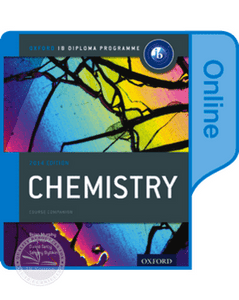 9780198307723, IB Chemistry Online Course Book: 2014 edition: Oxford IB Diploma Program