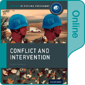 9780198354864, Conflict and Intervention: IB History Online Course Book: Oxford IB Diploma Programme