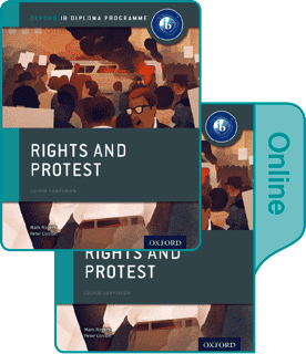 History Rights and Protest Print and Online Course Book Pack -Oxford University Press IBSOURCE