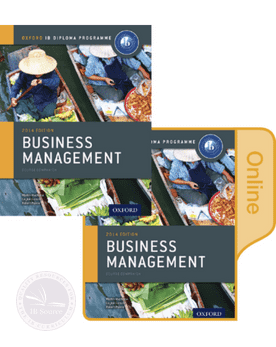 Business Management: Print and Online Course Book Pack - IBSOURCE