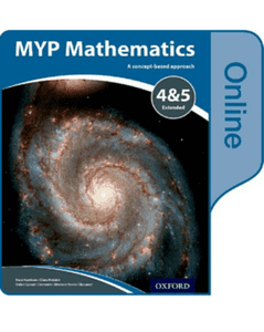 MYP Mathematics 4/5 Extended Online Student Book NOT YET PUBLISHED DUE APRIL 23, 2017 -Oxford University Press IBSOURCE