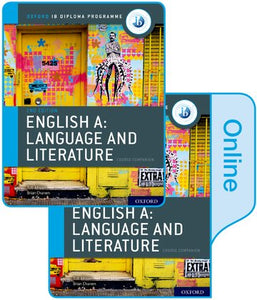IB English A: Language and Literature Print and Online Course Book Pack (New 2019)