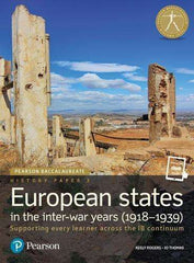 Pearson IB Baccalaureate History Paper 3: European states in the inter-war years (1918-1939) (New 2018)