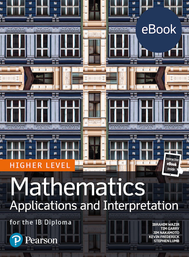 Pearson IB Mathematics Applications and Interpretation HL (eBook edition) 4 Year License